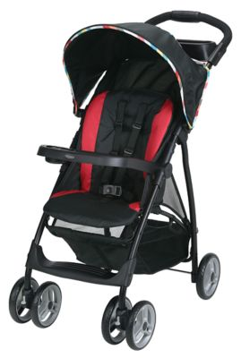 photo of Graco LiteRider® LX Stroller - Red/Black by Newell Brands – Baby & Writing