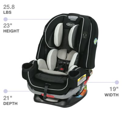 4ever Extend2fit 4 In 1 Car Seat Gracobaby Com