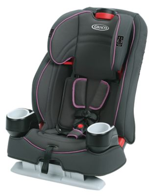 photo of Graco Atlas™ 65 2-in-1 Harness Booster Car Seat - Purple/Gray by Newell Brands – Baby & Writing
