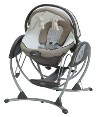 photo of Graco Soothing System™ Glider - Gray/White by Newell Brands – Baby & Writing