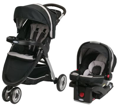 photo of Graco FastAction™ Fold Sport Travel System - Purple/Black by Newell Brands – Baby & Writing