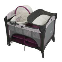 Deals on Graco Baby Pack N Play Newborn Seat DLX Playard
