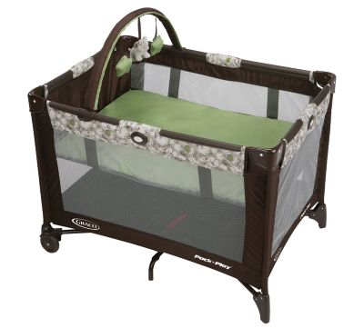 photo of Graco Pack 'n Play® On the Go™ Playard - Green/Brown/Gray by Newell Brands – Baby & Writing