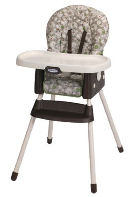 photo of Graco SimpleSwitch™ Highchair - Green/Brown/Gray by Newell Brands – Baby & Writing