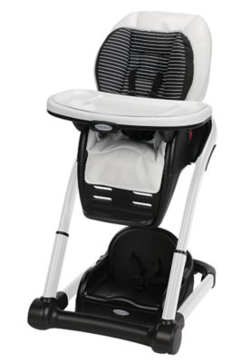photo of Graco Blossom™ 6-in-1 Highchair - Black/White by Newell Brands – Baby & Writing