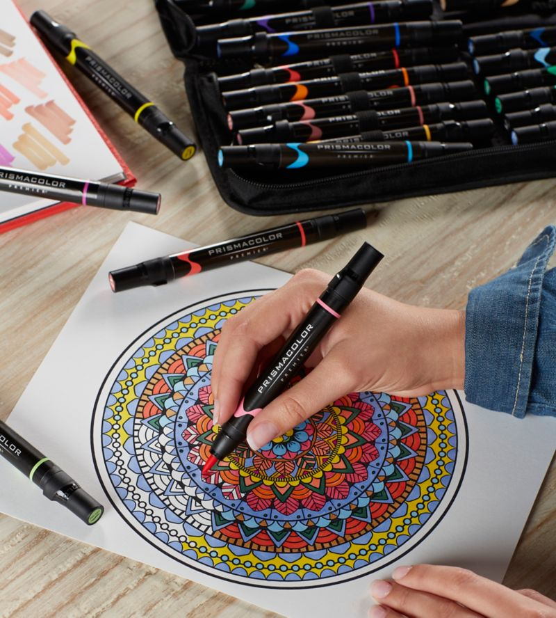 quick tips for using prismacolor art markers prismacolor