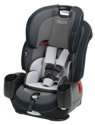 photo of Graco Nautilus® SnugLock® LX 3-in-1 Harness Booster Car Seat - Gray/Blue/Black by Newell Brands – Baby & Writing