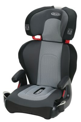 photo of Graco TurboBooster® TakeAlong™ Highback Booster Car Seat - Gray/Black by Newell Brands – Baby & Writing
