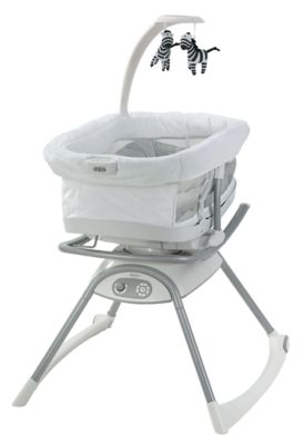 photo of Graco Duet Glide™ LX Gliding Swing - Black/White by Newell Brands – Baby & Writing