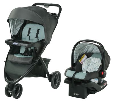 Spice Graco Pace Click Connect Travel System
