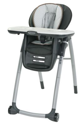 photo of Graco Table2Table™ Premier Fold 7-in-1 Highchair - Gray/Brown/Black by Newell Brands – Baby & Writing