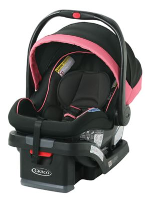 photo of Graco SnugRide® SnugLock® 35 LX Infant Car Seat featuring 1-Hand Adjust - Black/Gray/Orange by Newell Brands – Baby & Writing