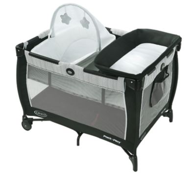 photo of Graco Pack 'n Play® Care Suite™ Playard - Black/White by Newell Brands – Baby & Writing