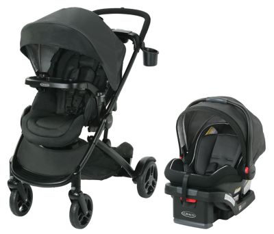 photo of Graco Modes2Grow™ Travel System - Black by Newell Brands – Baby & Writing