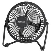 Holmes® 4'' Mini High Velocity Fan (HNF0410A-BM) image number 0