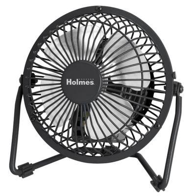 Holmes® 4'' Mini High Velocity Fan (HNF0410A-BM)