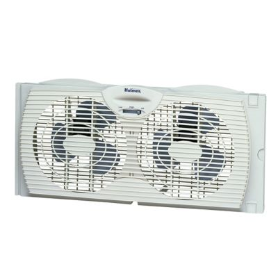 Holmes® Twin Window Fan with Reversible Air Flow Control (HAWF2021TG-NWMUM)