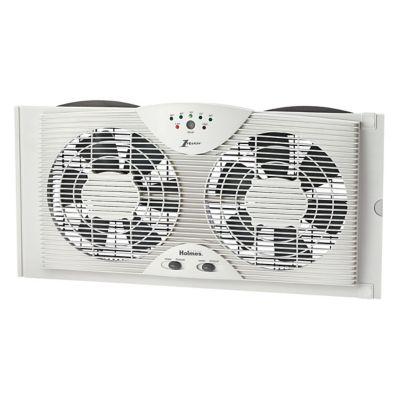 Holmes®  Electronically Reversible Twin Window Fan (HAWF2043-N)