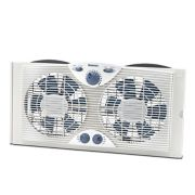 Holmes® Dual Blade Window Fan With Comfort Control Thermostat (HAWF2041-N ) image number 0
