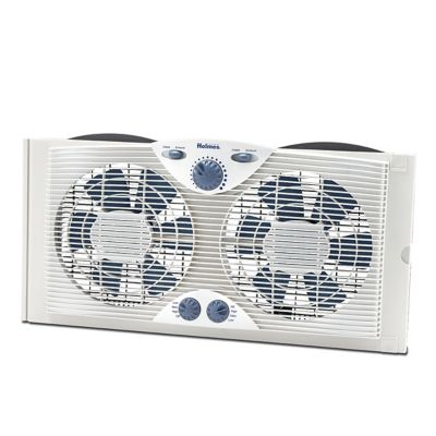 Holmes® Dual Blade Window Fan With Comfort Control Thermostat (HAWF2041-N )