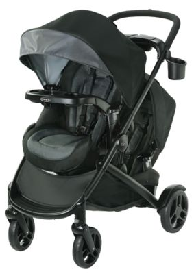photo of Graco Modes2Grow™ Double Stroller - Black/Gray by Newell Brands – Baby & Writing