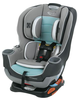 photo of Graco Extend2Fit® Convertible Car Seat - Blue/Gray/White by Newell Brands – Baby & Writing