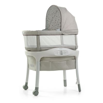 photo of Graco Sense2Snooze™ Bassinet with Cry Detection™ Technology - Roma by Newell Brands – Baby & Writing