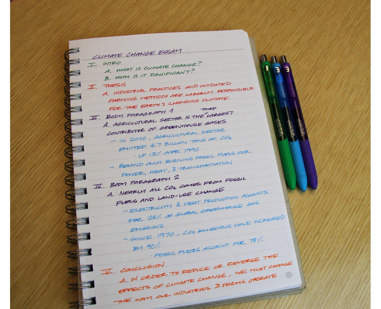 Essay Outline - Paper Mate