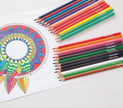 Colored Pencils Paper Mate