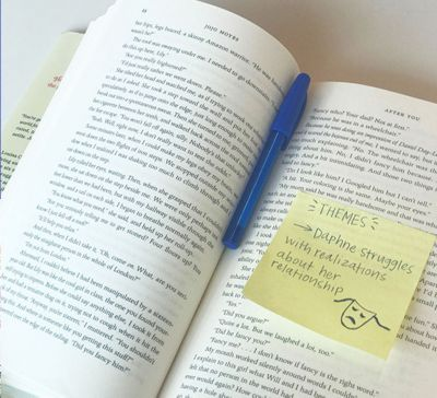 sticky-note-with-blue-papermate-inkjoy-mini-in-pages-of-novel.jpg