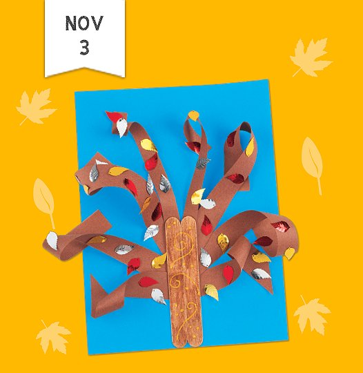 join us saturday november third and make a 3d tree for fall