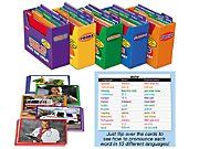 Vocabulary Development Photo Card Libraries - Complete Set