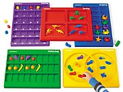 Lakeshore Hands-On Math Trays- Complete Set