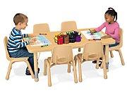 Heavy-Duty Adjustable Rectangular Tables