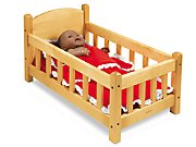 Lakeshore Hardwood Doll Crib