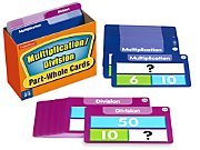 Visualize It! Part-Whole Multiplication and Division Cards