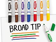 Best-Buy Washable Broad-Tip Markers - Student Pack