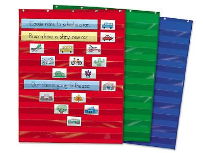 Heavy duty pocket charts at lakeshore learning