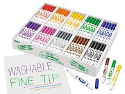 Best-Buy Washable Fine-Tip Markers - Class Pack