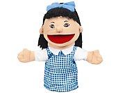 Let's Talk! Asian Girl Puppet