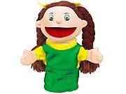 Let's Talk! Caucasian Girl Puppet
