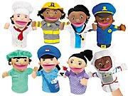 Let's Talk! Community Helper Puppets- Complete Set