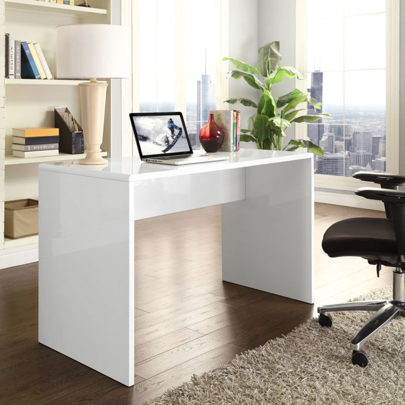 Trends On A Budget Modern Office, Inexpensive Modern Office Furniture