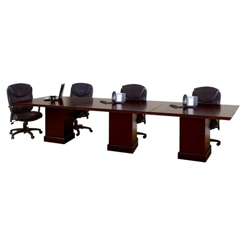 """Mount View Rectangular Conference Table 144""""W - Martin Furniture"""