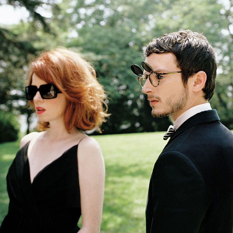 Shirley Manson and Elijah Wood for Oliver Peoples 2010