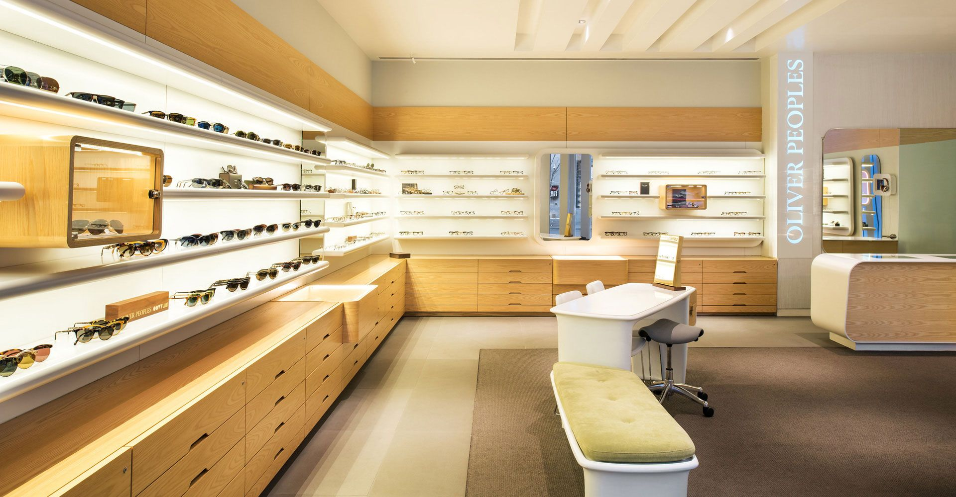 Oliver Peoples Chicago Illinois Eyewear Boutique