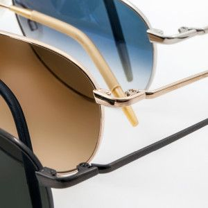 Custom Metal Finishes glasses spectacles eyeglasses designer eyewear sunglasses