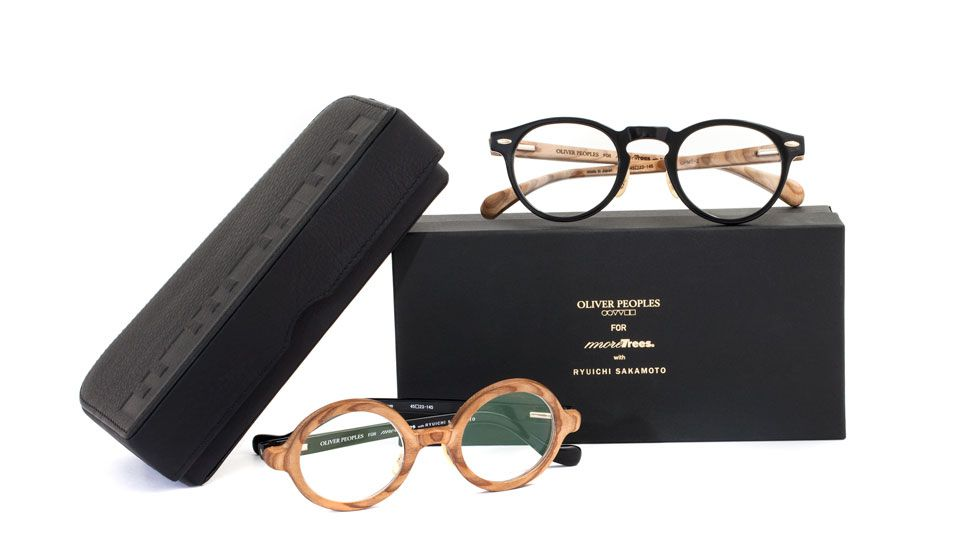 f70c31802f5 Oliver Peoples is proud to partner with Japanese environmentalist and  musician Ryuichi Sakamoto s foundation