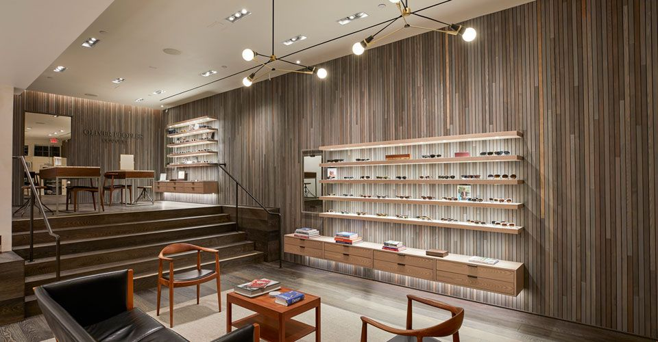 Oliver Peoples store at east hampton