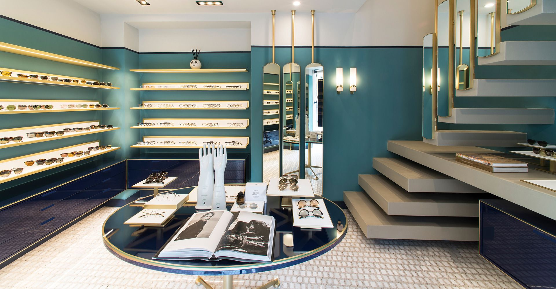 Oliver Peoples Roma Eyewear Boutique